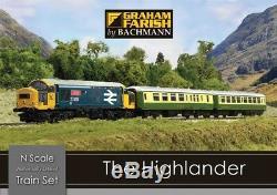 Graham Farish 370-048 Le Highlander Numérique De Train De (n Gauge)