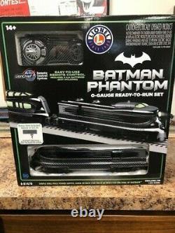 Grand! Lionel Batman Phantom Lion Chief Train Set 6-81470 O Jauge