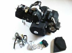 Hmparts Motor Set 125 CCM Vollautomatik E-démarreur Oben Atv Quad Kinderquad