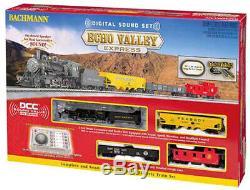 Ho Complète Train Bachmann Echo Valley Express DCC & Sound Équipée