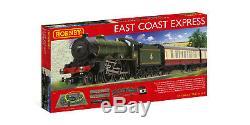 Hornby R1214 East Coast Électrique Express Train Gauge Oo Vapeur Loco DCC Ready