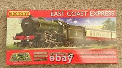 Hornby R1214 East Coast Express Avec West Ham Utd Locomotive Electric Train Set