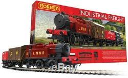 Hornby R1228 Industriel Fret Complet Starter Set Train De Marchandises