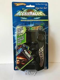 Hot Wheels Acceleracers Collectible Card Game Starter Set Avec Synkro Vert