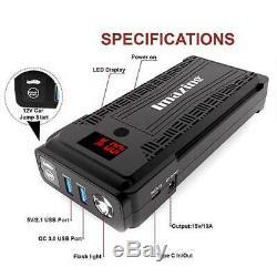 Imazing Portable Car Jump Starter 12v 2500a Crête Batterie 20000mah Usb Power Bank