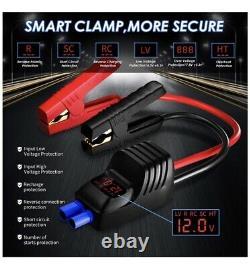 Imazing Portable Voiture Jump Starter 2500a Peak 12v Batterie 20000mah Usb Power Bank