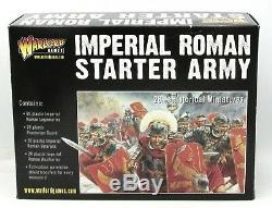 Je Vous Salue, César Wga-ir-1 Imperial Starter Armée Romaine (coffret) Warlord Romains Jeux