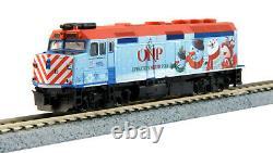 Kato 1062016 N 2016 Opération Pôle Nord Train De Noël Loco & 3 Cars 106-2016