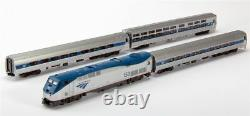 Kato 1066285dcc N Amtrak Phvi P42 Loco + 3 Cars Amfleet Viewliner Set Avec DCC