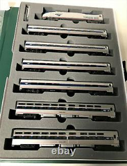 Kato 1066286bndl N P42 Amtrak Amfleet/viewliner 7-pc Set Loco & 6 Cars 106-6286b