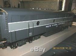Lgb # 70657 New York Central 20e Siècle Train Avec Son Ln 230/400