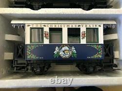 Lgb #72545 The Christmas Train Blue Starter Set (nouveau-pas Exécuter Ou Affiché)