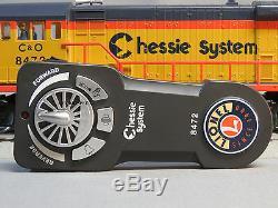 Lionel Chessie Lionchief Trains Telecommande U36b Moteur Diesel Co-6-82324 E
