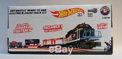 Lionel Hot Wheels Lionchief Bluetooth Train Set O Moteur Calibre Voitures 6-84700 Nouveau