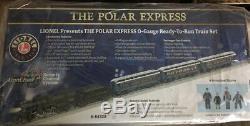 Lionel Le Polar Express Lionchief Train O Gauge 6-84328 Ship Nouveau Magasin De