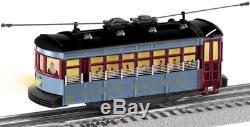 Lionel O Calibre Express Polar Trolly Train Set Voiture Rue Éclairée Lio1923130 Nouveau