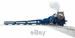 Lionel O Gauge Set Bleu Comet Lionchief Train Électrique Avec Bluetooth Nouveau