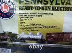 Lionel Pennsylvania Flyer Lion Chef O Gauge Train Électrique Ensemble Modèle 6-83984