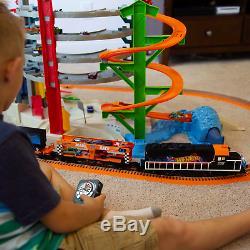 Lionel Trains Hot Wheels Lionchief Prêt À Fonctionner Train Avec Bluetooth Contrôle