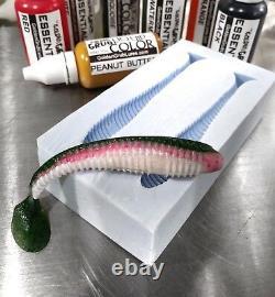 Liquid Plastique Super Starter Swimbait Mold Plastisol De Pêche Lure Making Kit