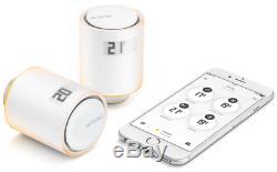 Netatmo S + Arck Radiateur Thermostats Starter Set Kit De Démarrage Avec 3 Soupapes