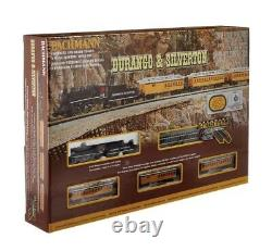 New Bachmann Trains #24020 Durango And Silverton, N Scale Complete Train Set