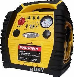 Nouveau 4 En 1 Démarreur De Saut 12v 17ah Portable Power Pack Car Battery Booster Charger
