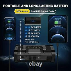 Nouveau 6000a Peak Car Jump Starter Booster Booster Jumper Power Bank Chargeur De Batterie