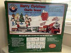 Nouveau Lionel Peanuts Joyeux Noël Charlie Brown! Ensemble Complet De Trains De Jauge O