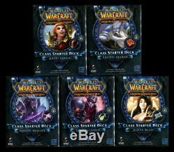 Nouveau Scellé Printemps 2013 Classe Starter Set De Plate-forme Des 10 Mondiale Warcraft Wow Tcg