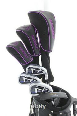Nouvel Ensemble Agxgolf Petite Ladies Starter Golf Avecbag +driver+hybrid+irons+pw+putter