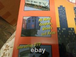 O Mth Rail King Ny Yankees Subway Série Set Mta Prêt À Courir P S 2.0 Boîte Scellée