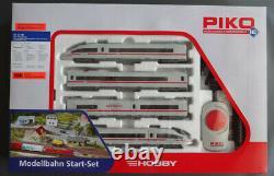 Piko Ho 57194 Starter Set Ice 3 Db DCC Ready USA 120v Transformateur Nib