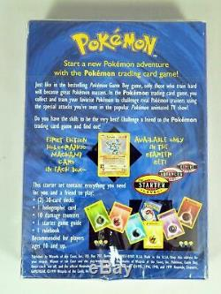 Pokemon 2 Joueur Starter Set Inside Garanti Cartes Shadowless Scellé En Usine