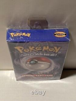 Pokemon Base 2-player Starter Set Thème Deck Factory Scellé 1999 Wotc Nouveau