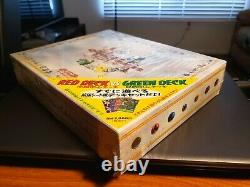 Pokemon Red Green Gift Quick Starter Set Sealed 1998! Nouveau! Decks Très Rares