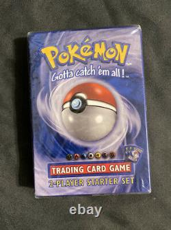 Pokemon Tcg Base Set 2 Joueurs Starter Set Usine Scellé 1999 Wotc Plus Bonus
