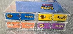 Pokemon Theme Decks 4x Base Set 2 + Set De Démarrage CD Rom Factory Scellé 1999 Wotc