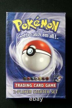 Pokemon Trading Card Game Set 2 Player Starter Deck Factory Scellé 1999