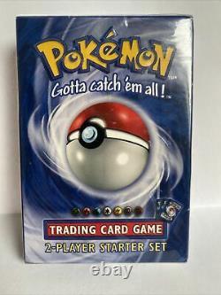 Pokemon Trading Card Game Starter Deck Base Set Sealed Pack Original 1999 Royaume-uni