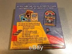 Rare! Pokemon Base 2 Starter Set Deux 'jouez' CD-ROM Wotc Anglais