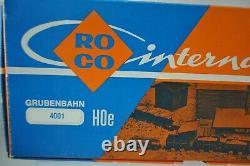 Roco 4001 Hoe Narrow Gauge Railway Set Avec Diesel Et 10 Voitures Et Piste Nouveau Avec Boîte