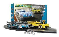 Scalextric Set C1412 Ginetta Racers Set Complet Starter Set Avec Lap Counter