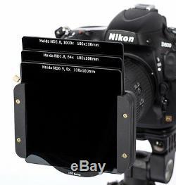 Série Haida Optique 100 Starterset II Halter, 3x Filtre Nd, 1x Cpl, Tasche
