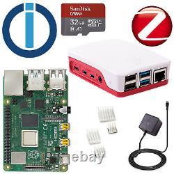 Serveur Smarthome Raspberry Pi4 2gb + 32gb Iobroker / Zigbee / Cul868 Set De Démarrage