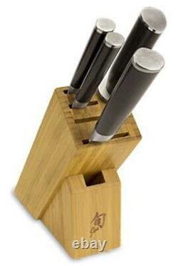 Shun Classic 5 Piece Starter Block Knife Set Dms0530 Brand New Concessionnaire Auth