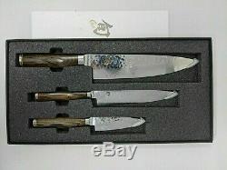 Shun Premier 3 Pièces Starter Set 8 Couteau Chef, 6.5 Utility, 4 Paring Tdms0300