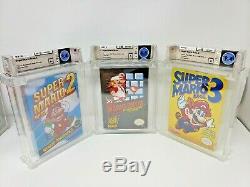 Super Mario Bros Nintendo Nes Trilogy Starter Pack New Sealed Monnaie D'or Wata Set