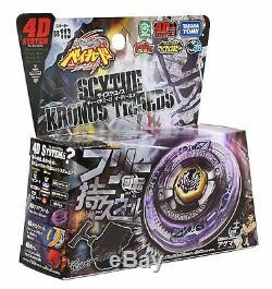 Takara Tomy Japonais Beyblade Metal Fusion Bb113 Starter Set Scythe Kronos