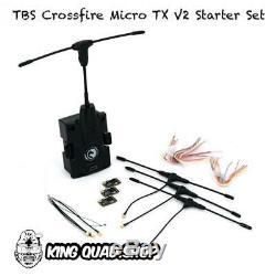 Tbs Crossfire Micro Tx V2 Starter Set (moins Cher Sur Le Kingquad. Boutique Site Web)